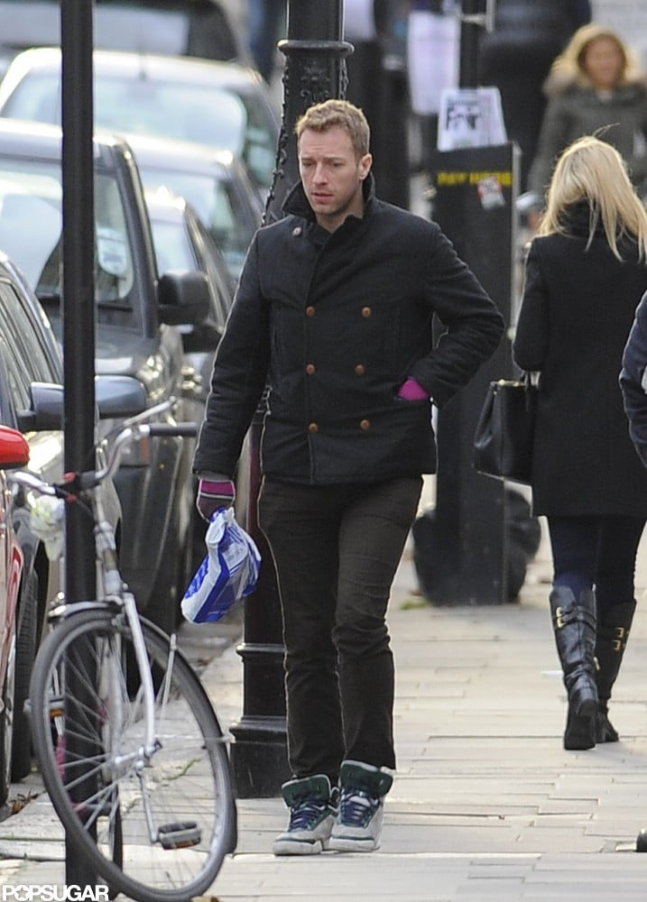 Gwyneth Paltrow Returns Home to Chris Martin in London