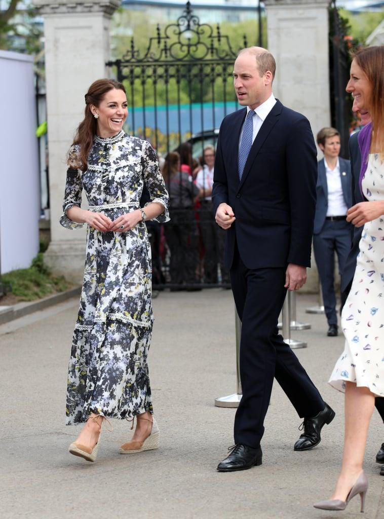 Kate Middleton Floral Erdem Dress May 2019