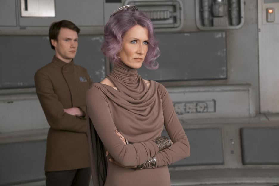 Image result for star wars the last jedi admiral holdo