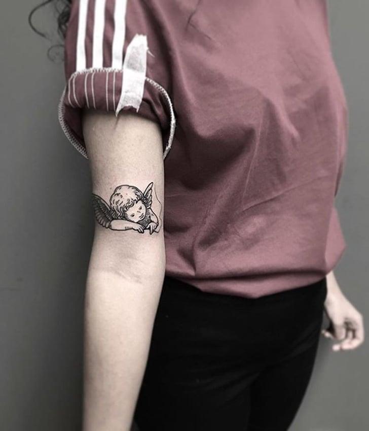 Angel Tattoos Popsugar Beauty