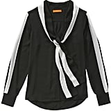 Joe Fresh Tie Neck Blouse - Black ($49)