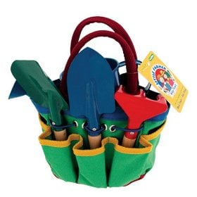 Schylling Little Farmer Garden Tote with Tools ($18)