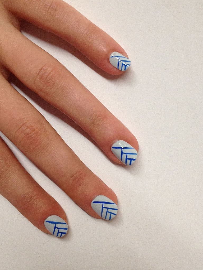 Wearing Stripes On Your Nails Has Never Been Simpler Best Nail