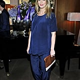 Emily Blunt glowed in flowy clothing on Friday.