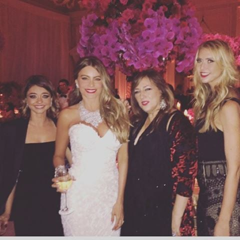 Celebrities At Sofia Vergara And Joe Manganiellos Wedding