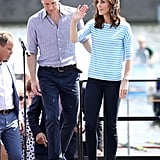Royals Wearing Trainers