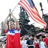 And flag-waving.