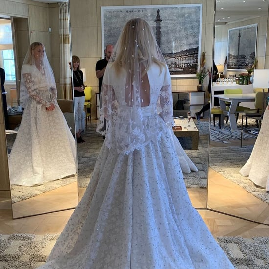Sophie Turner's Wedding Dress in France