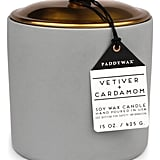 Paddywax Hygge Vetiver and Cardamom Candle