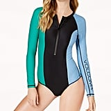 Volcom Colorblocked Long-Sleeve Women's Swimsuit