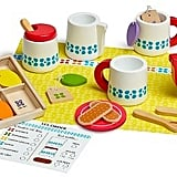 Melissa & Doug Steep and Serve Wooden Tea Set