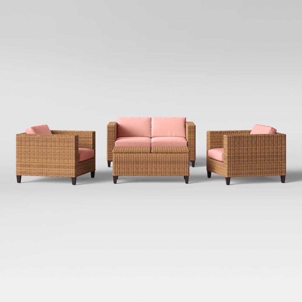 Fullerton 4-Piece Patio Conversation Set