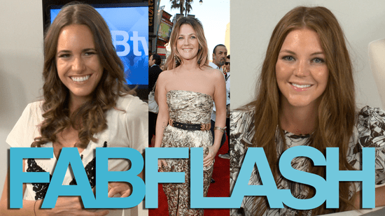 FabTV Fab Flash: Drew Barrymore Going the Distance, Style Tips From Louise Roe, and More