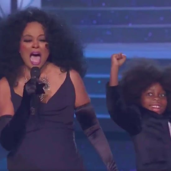 Diana Ross's Grandson Dancing at American Music Awards 2017