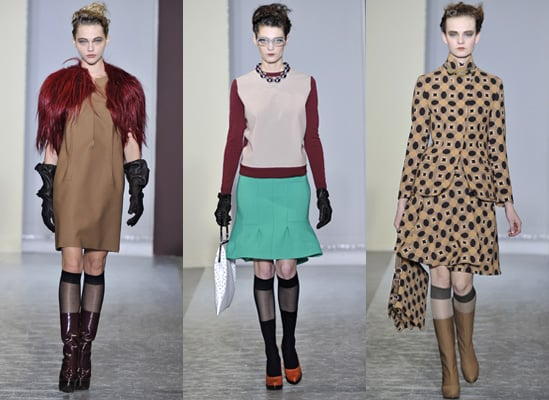 Photos from the Marni Autumn Show in Milan 2010