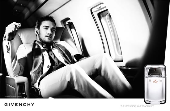 Photo of Justin Timberlake in New Givenchy Play Men Fragrance Adverts Commercials Eau de Toilette Play Intense September 2008