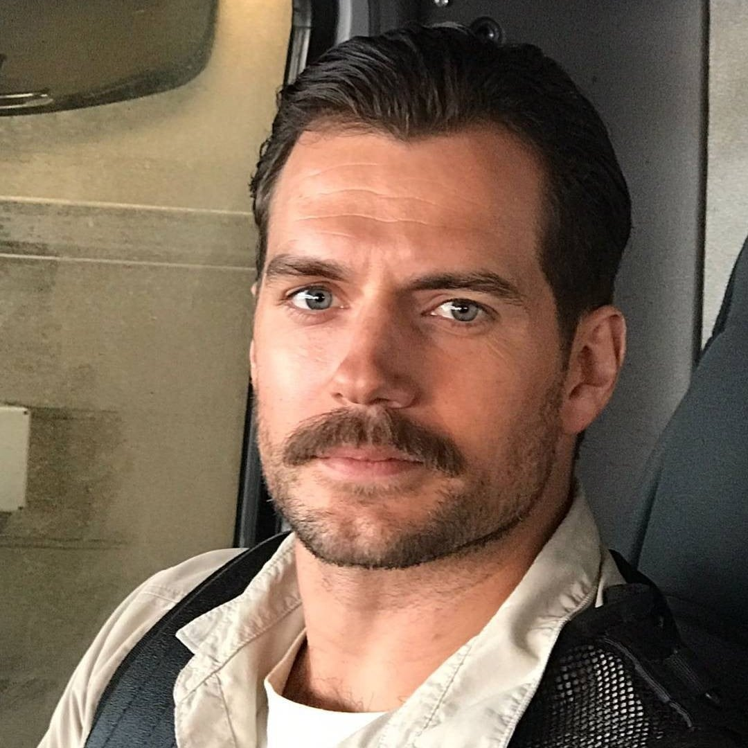 Henry Cavill Mustache Instagram Video | POPSUGAR Celebrity