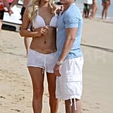 Paris Hilton Packs Up Her Hawaiian Bikinis and Heads to Mexico