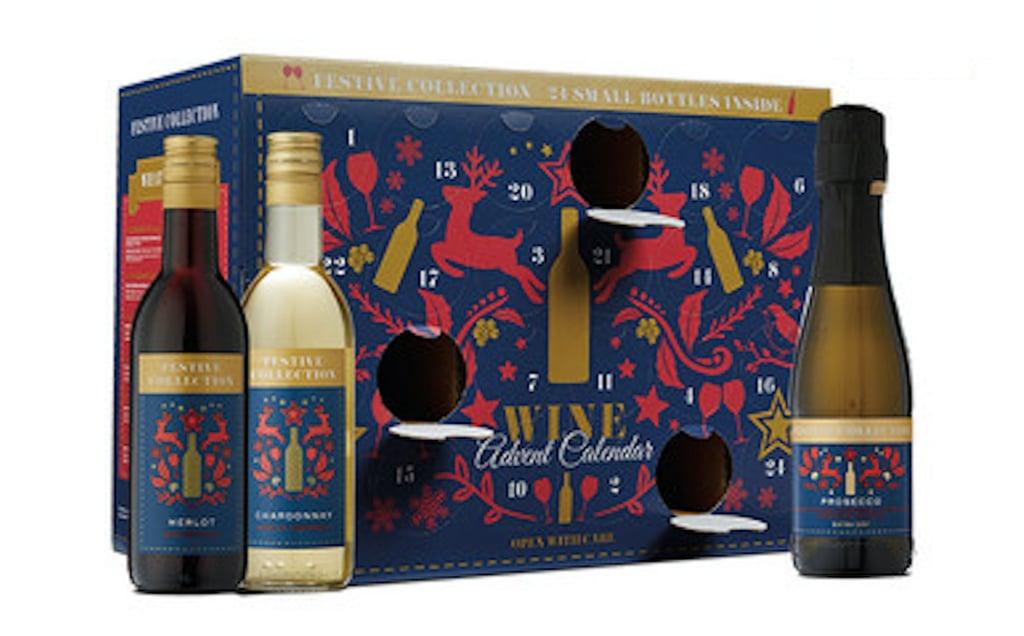 Festive Collection Wine Advent Calendar From Aldi 2018