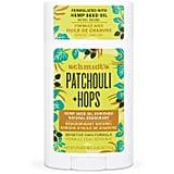 Schmidt's Patchouli + Hops Aluminum-Free Hemp-Seed Oil Natural Deodorant Stick