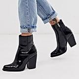 ASOS DESIGN Robin Heeled Ankle Boots