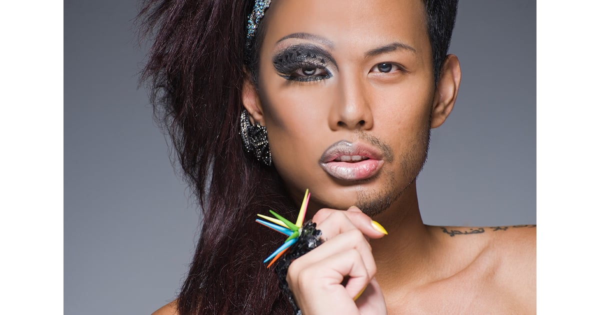 Half-Drag Portrait Series | POPSUGAR Beauty