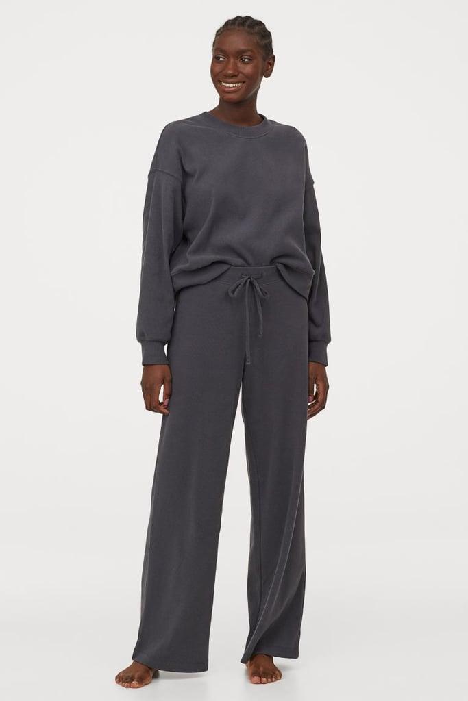 H&M Ribbed Jersey Set