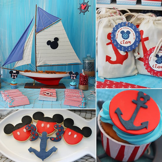 Ahoy, Mickey! A Nautical Disney-Inspired Birthday Bash