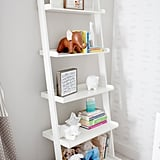 """We wanted the nursery to be a haven for the baby, and knowing that this stage would bring a lot of chaos naturally, I definitely felt that creating a calm environment would help even out potential stress,"" she said.   Leaning Bookcase ($77) Elephant Bookend ($60)"