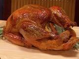 Bay Leaf and Lemon Brined Roast Turkey Recipe