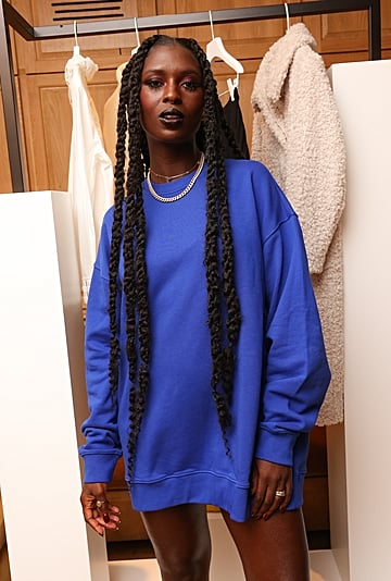 Jodie Turner-Smith Quote on Sharing Joshua Jackson's Clothes