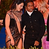 Kim Kardashian Basically Just Confirmed Kendall Jenner's Romance With A$AP Rocky
