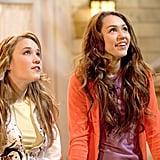 Emily Osment (left) as Lilly Truscott