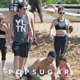 Lucy Hale and Riley Smith in Hawaii Pictures May 2018