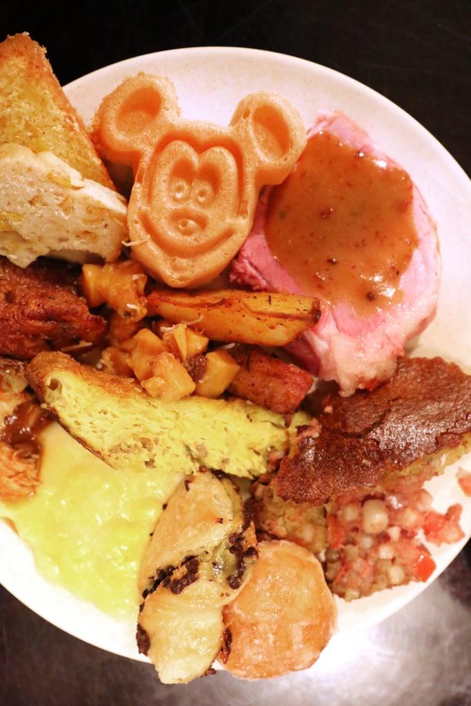 Disney Tusker House Buffet Breakfast ($32 each plus 18 percent gratuity)