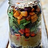 Sweet Potato Mason Jar Salad
