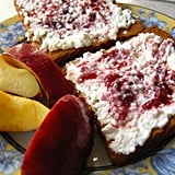 Cottage Cheese With Fruit and Toast