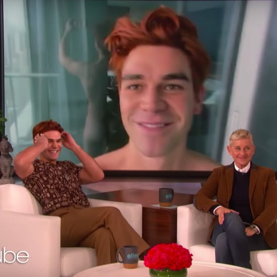Watch KJ Apa on The Ellen DeGeneres Show Video