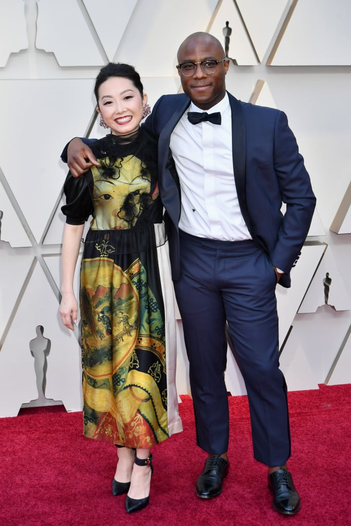 Barry Jenkins And Lulu Wang At The 2019 Oscars Celebrity