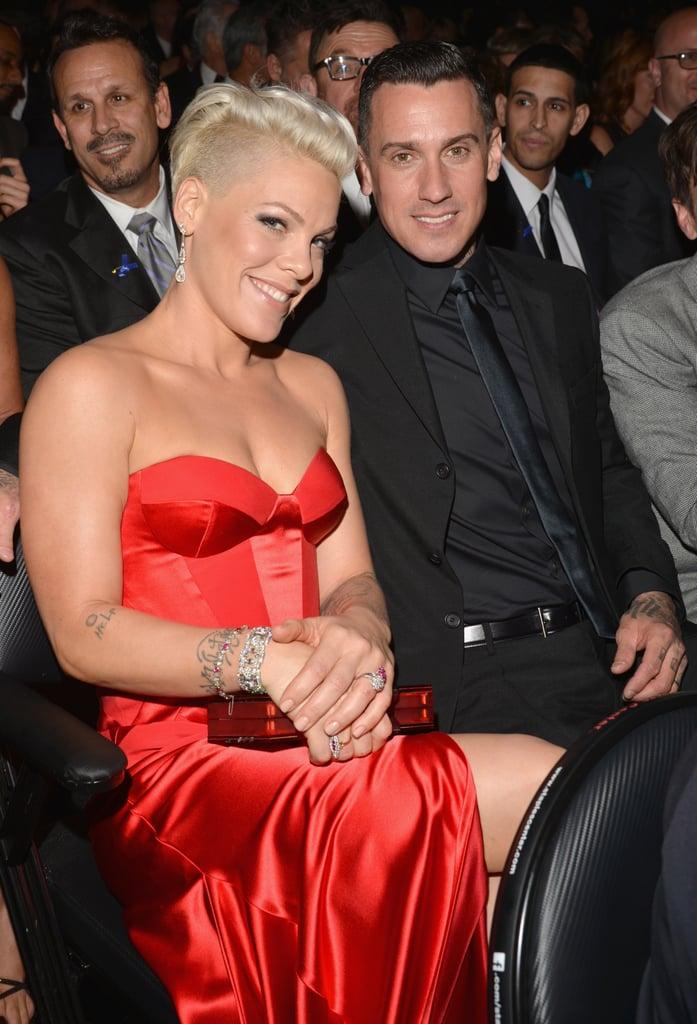 pink at 2014 grammy awards popsugar celebrity australia