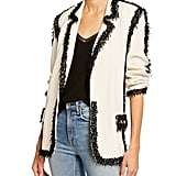 Libertine Beaded-Seams Long Blazer