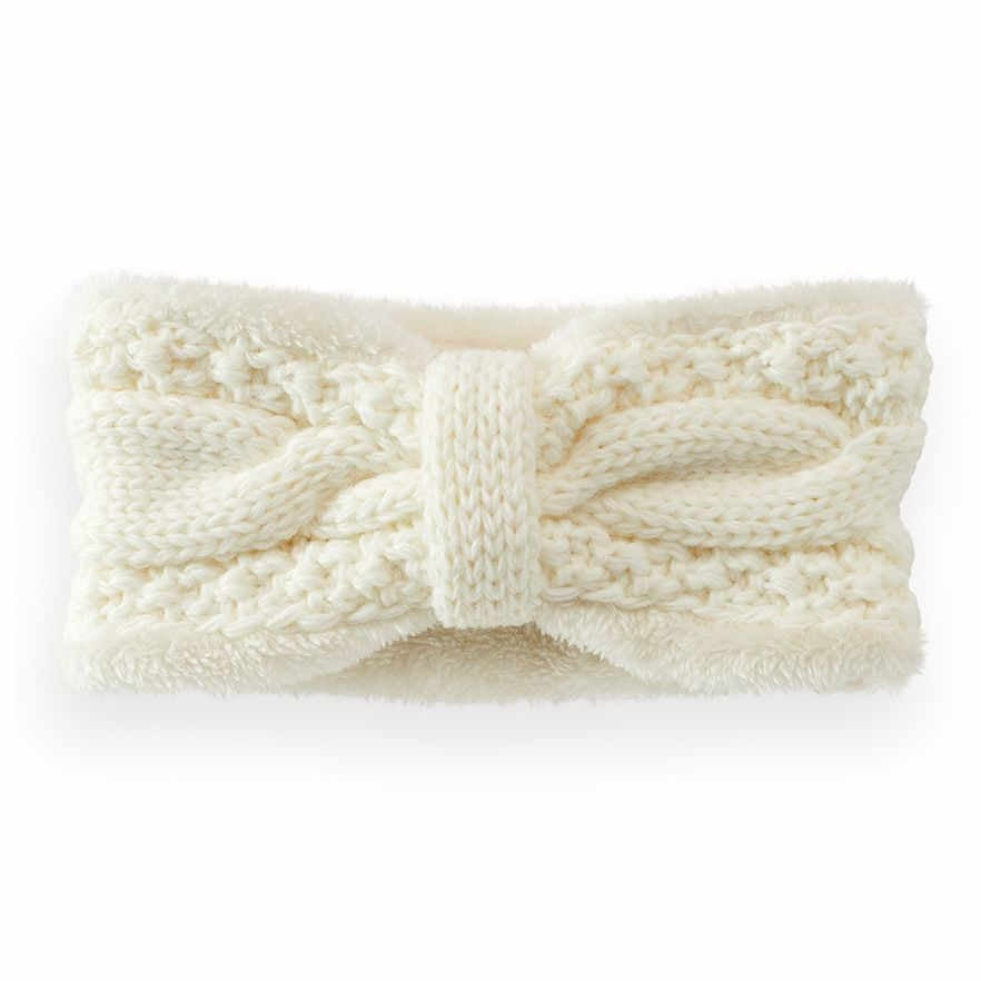 Knotted Cable-Knit Headband