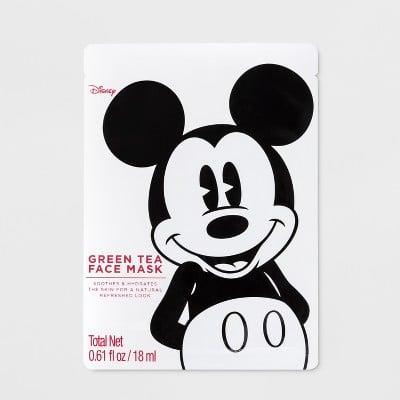 Mickey Mouse Green Tea Face Mask