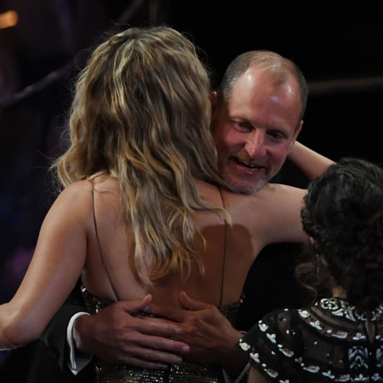 Jennifer Lawrence and Woody Harrelson at the Oscars 2018