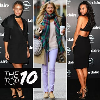 Best Dressed Celebs: Megan Gale, Lara Bingle, Jessica Hart