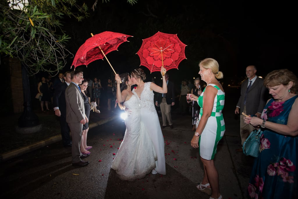 Talia and Jessica had a fairy-tale Fall wedding at the Botanical Gardens in New Orleans.