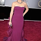 Violet, Seraphina, and Samuel Afflecks' mom, Jennifer Garner, shone on the Oscars red carpet in a purple Gucci gown.
