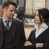 Wyatt and Lucy From Timeless