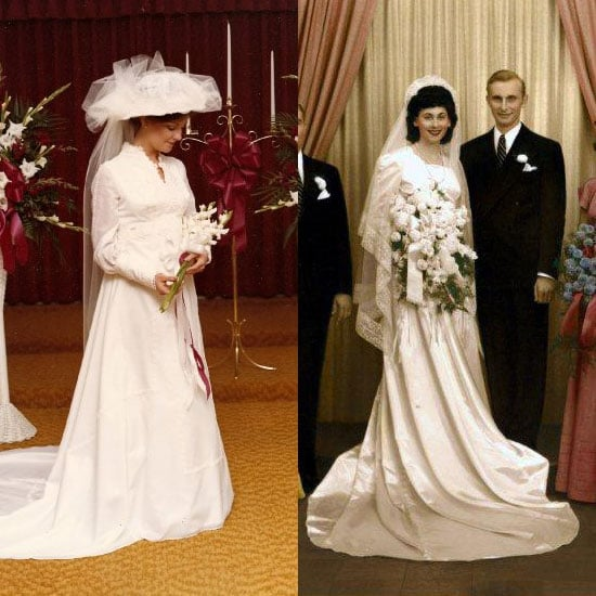 Wedding Gown For Parents: Miranda Lambert Wore Mom's Wedding Dress