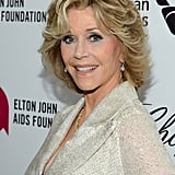 Jane Fonda at Elton John Party